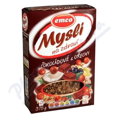 Zobrazit detail - EMCO Mysli čokoládové s lískovými oříšky 375g