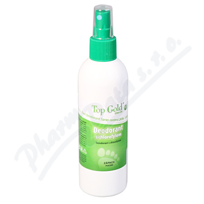 Zobrazit detail - TOP GOLD Deo. s chlorofylem+Tea Tree Oil 150g