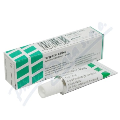 Zobrazit detail - Fungicidin ung. 1x10g Léčiva