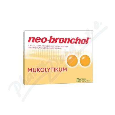 Zobrazit detail - Neo-bronchol 15mg pastilky 20