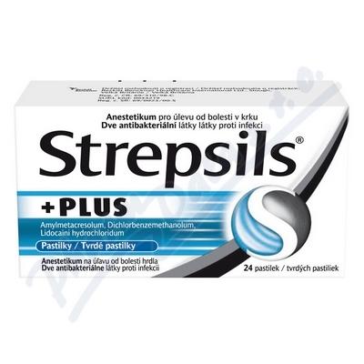 Zobrazit detail - Strepsils Plus pas.  24