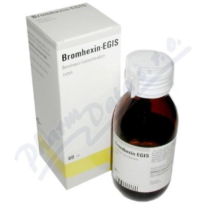 Zobrazit detail - Bromhexin - Egis sol. 1x60ml-120mg