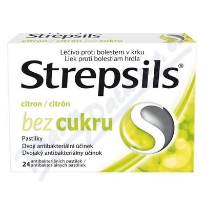 Zobrazit detail - Strepsils Citron bez cukru orm. pas.  24