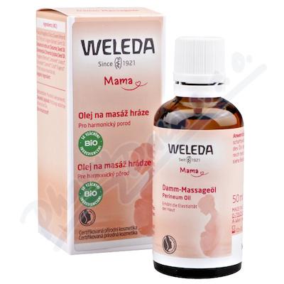 Zobrazit detail - WELEDA Olej na masáž hráze 50ml