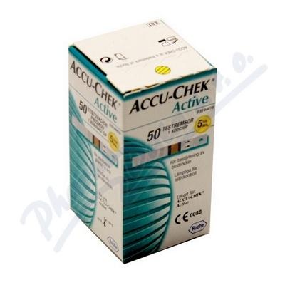 Zobrazit detail - Accu-Chek Active testovací proužky 50