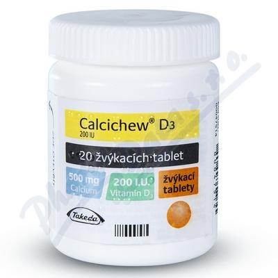 Zobrazit detail - Calcichew D3 ctb. 20
