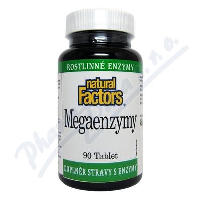 Zobrazit detail - Mega Enzymy tbl. 90 Natural Factors
