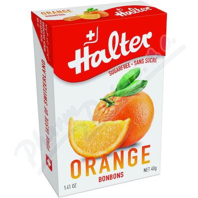 Zobrazit detail - HALTER bonbóny Pomeranč (orange) 40g H203345