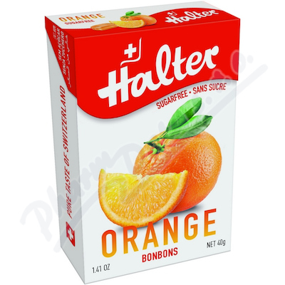 Zobrazit detail - HALTER bonb�ny Pomeran� (orange) 40g H203345