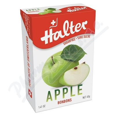 HALTER bonbóny Jablko 40g (Apple) H203340