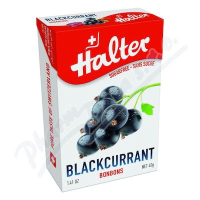 Zobrazit detail - HALTER bonbóny Černý rybíz 40g blackcurran H203342