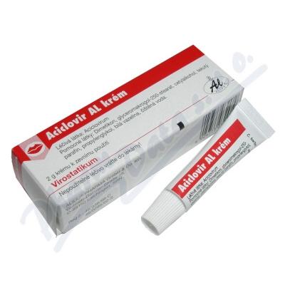 Aciclovir AL Krém drm.crm.1x2g-100mg