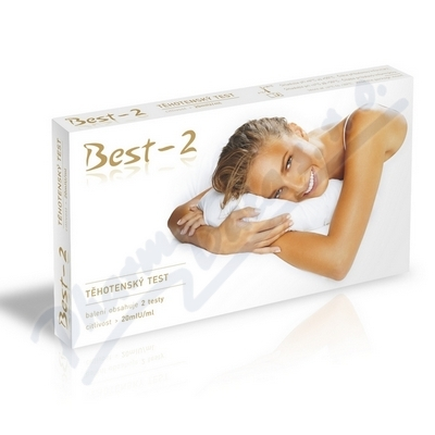 Zobrazit detail - Těhotenský test Best-2 testy