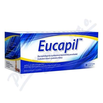 Zobrazit detail - Eucapil amp. 30x2ml prostř. proti vypadávání vlasů