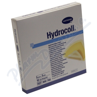 Zobrazit detail - Kompres Hydrocoll steriln� 5x5cm 10ks