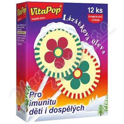 Zobrazit detail - VitaHarmony VitaPop 12ks lízátek při nachlazení