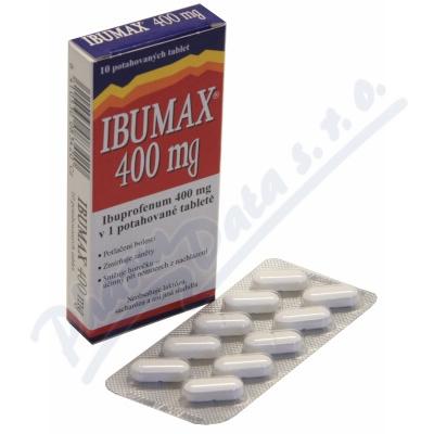 Zobrazit detail - Ibumax 400mg por. tbl. flm. 10x400mg