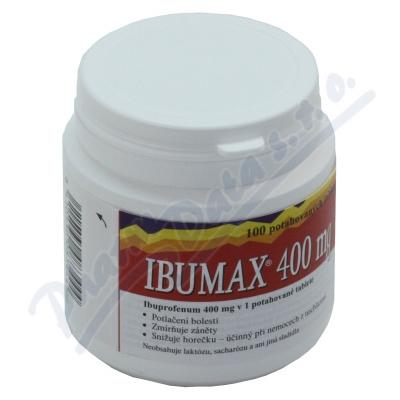 Zobrazit detail - Ibumax 400mg por. tbl. flm. 100x400mg