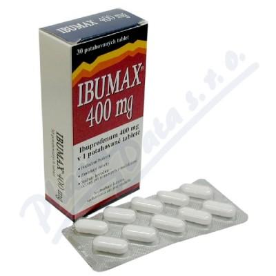 Zobrazit detail - Ibumax 400mg por. tbl. flm. 30x400mg