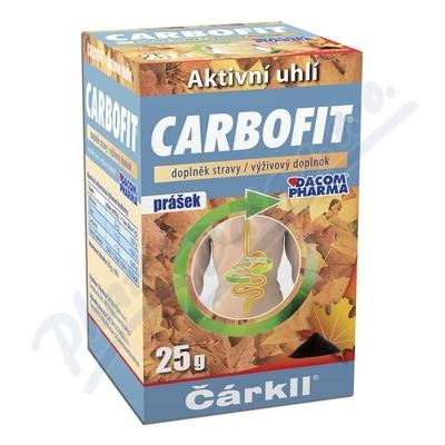 Zobrazit detail - Carbofit pr�ek 25g ��rkll