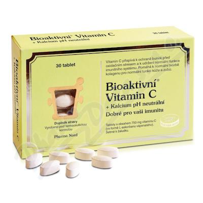 Zobrazit detail - Bioaktivn� Vitamin C+Kalcium pH neutr�ln� tbl. 30