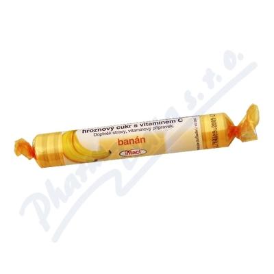 Zobrazit detail - Intact rolička hroznový cukr s vit. C - banán 40g