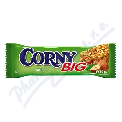 Zobrazit detail - Corny BIG oříšková 50g (müsli tyčinka)