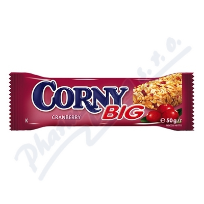 Zobrazit detail - Corny BIG brusinkov� 50g (m�sli ty�inka)