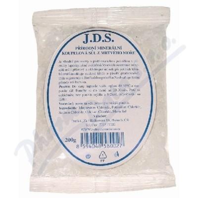 Zobrazit detail - J. D. S. Koupelová sůl z Mrtvého moře 200g