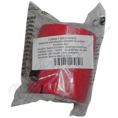 Zobrazit detail - 3M Coban elast. samofix. obin. 7. 5cmx4. 5m 1ks červené