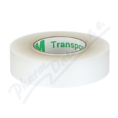 Zobrazit detail - 3M Transpore transp. náplast 1. 25cmx9. 15m 24ks