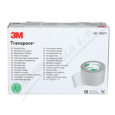 3M Transpore transp.náplast 2.5cmx9.1m 12ks