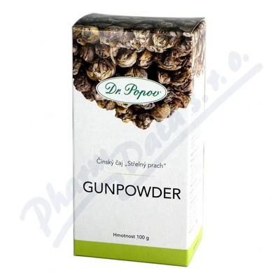 Zobrazit detail - Čaj Gunpowder zelený 100g Dr. Popov