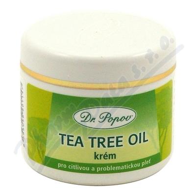 Zobrazit detail - Tea Tree oil krém 50ml Dr. Popov