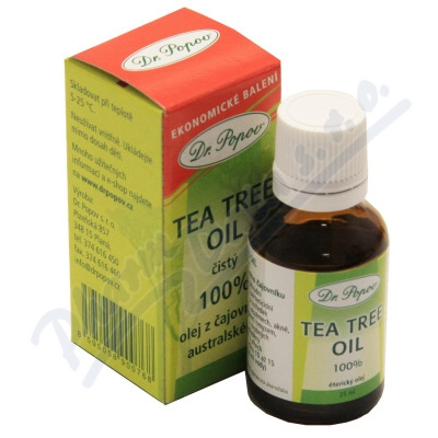 Zobrazit detail - Dr. Popov Tea Tree Oil 25ml