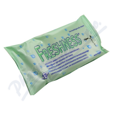 Zobrazit detail - Ubrousky osvěžující cestovní 15ks Freshness