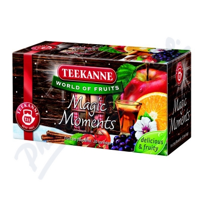 Zobrazit detail - TEEKANNE WOF Magic Moments n. s. 20x2. 5g (ovoce+rum)