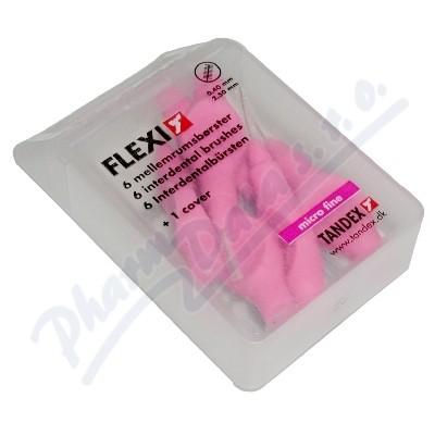 Zobrazit detail - TANDEX mezi. kart.  Flexi 0. 4 mm růž.  6ks TA819071