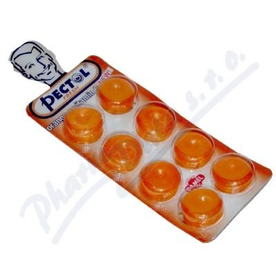 Pectol-pomerančový drops s vit.C blistr