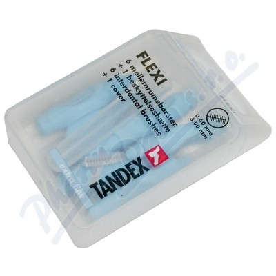 Zobrazit detail - TANDEX mezi. kart.  Flexi 0. 6 mm mod.  6 ks TA819074