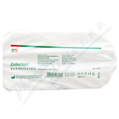 Zobrazit detail - Tampony z obvazové buničiny Zelletten 5x4cm 2role