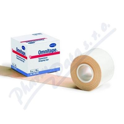 Zobrazit detail - Páska fixační pro taping Omnitape 5cmx10m-1ks