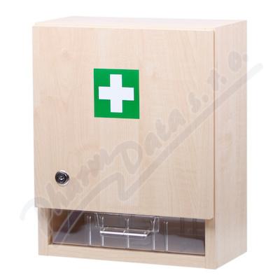 Zobrazit detail - Lékárnička - nástěn. s náplní do10 osob-ZM10
