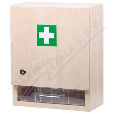 Zobrazit detail - Lékárnička - nástěn. s náplní do 20osob-ZM20