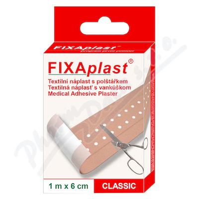 Zobrazit detail - Náplast Fixaplast Classic 1mx6cm neděl. s polšt.
