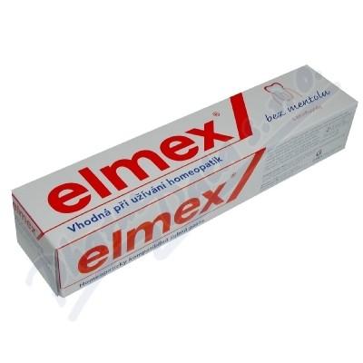 Zobrazit detail - Elmex zubní pasta bez mentolu 75ml