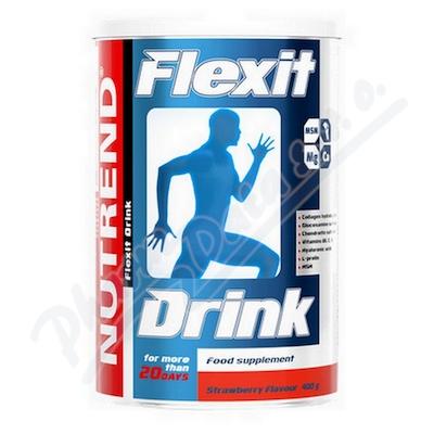 Zobrazit detail - NUTREND Flexit Drink jahoda 400g