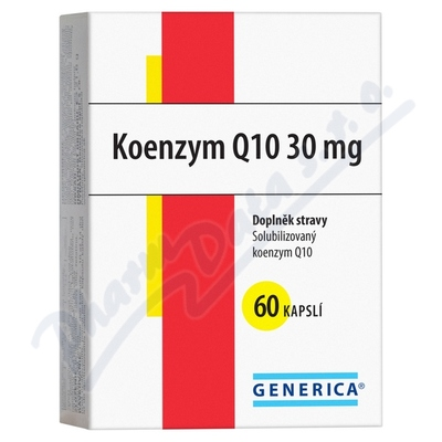Zobrazit detail - Koenzym Q10 30 mg cps. 60 Generica