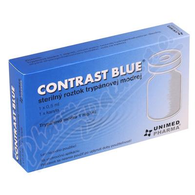 Contrast Blue 1x0.5ml + 1xkanyla