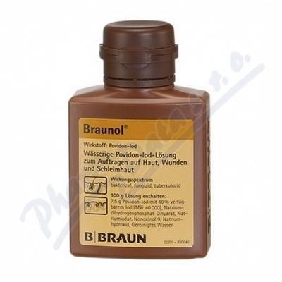 Zobrazit detail - Braunol drm. sol. 1x100ml
